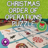 Christmas Math Order of Operations Puzzle