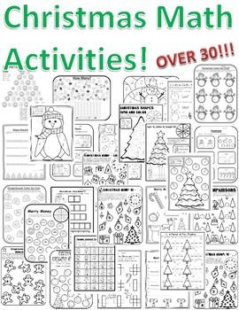Christmas Math Activities 2nd Grade Christmas Math Games 2nd Grade Christmas