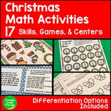 #hotwinter Christmas Math Activities, Games, and Centers