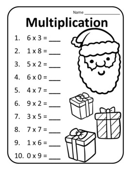 Christmas Math Activities 3rd Grade Christmas Math 3rd Christmas Math Third