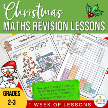 Christmas Math Activities: A full week of lessons