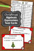 Christmas Math Activities, Algebraic Expressions Task Cards, Algebra Games