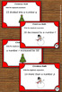 Christmas Math Algebraic Expressions Task Cards 6th 7th Gr