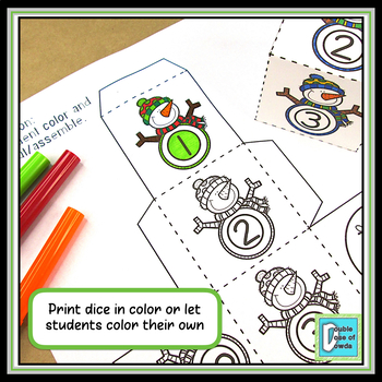 Christmas Winter Math Activities BUNDLE | Division With and Without Remainders