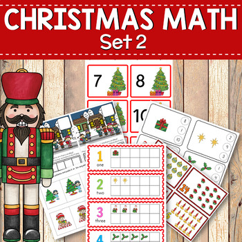 Christmas Math Activities: Counting Numbers to 20
