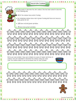 Christmas Math Activities 5th Grade