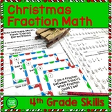 Christmas Fraction Activities 4th Grade