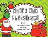 Christmas Math Activities {Merry Fun Math}