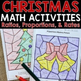 Christmas Math Activities - Middle School