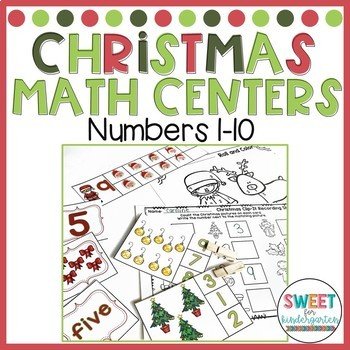 Christmas Math Activities {Numbers 1-10}