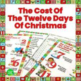 Christmas Math Activities The 12 Days of Christmas