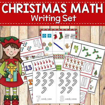 Christmas Math Activities: Writing Numbers to 20