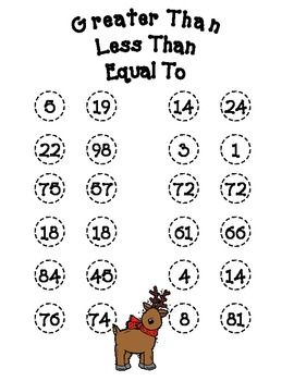 Christmas Math Activities and Games