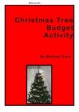 Christmas Math Activities budgeting