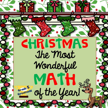 Christmas Math Activities and Centers