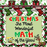 Math Christmas Activities and Centers