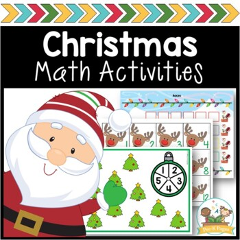 Christmas Math Activities for Pre-K