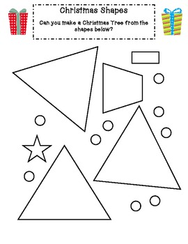 Christmas Math Activities for Reception (Kindergarten)/Year 1