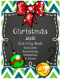 Christmas Math Activity Book