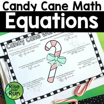 Christmas Math Activity, Equations