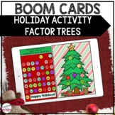 Christmas Math Activity | Factor Trees | BOOM CARDS