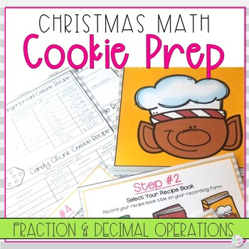 Christmas Math Activity | Fractions and Decimals