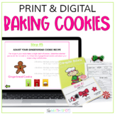 Christmas Math Activity | Fractions and Decimals Recipes P
