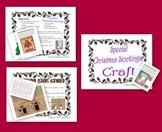 Christmas Math Activity K.CC.A1, K.CC.A2 and K.CC.A3
