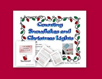 Christmas Math Activity K.CC.A.3