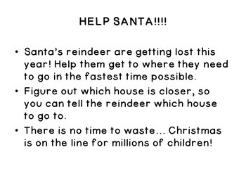 Christmas Math Activity - Rounding Reindeer- 3rd Grade Place Value