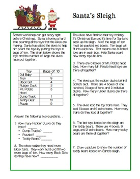 Christmas Math Activity Set: Place Value