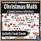Christmas Math Activity Task Cards