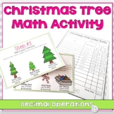 Christmas Math Activity for 5th Grade | Decimals and Money