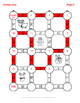 Christmas Math: Adding Mixed Fractions Maze
