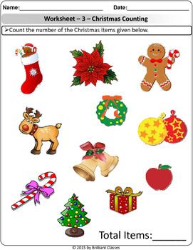 Christmas Math - Addition / Counting