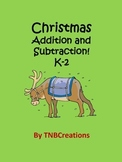 Christmas Addition and Subtraction Worksheets