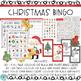 Christmas Math And Literacy Booklet With Christmas Bingo Game Bundle