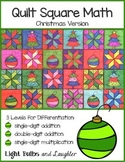 Christmas Math Art - Quilt Square