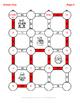 Christmas Math: Average of 3 digits Maze