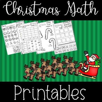 Christmas Math Avtivities