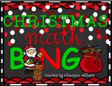 Christmas Math BINGO