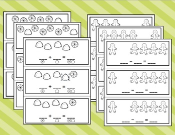Gingerbread Interactive Math Books
