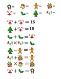 Christmas Math Brain Benders