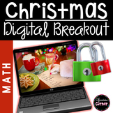 Christmas Breakout Activity {Math}