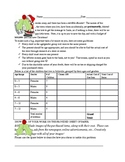 Christmas Math Budget Activity