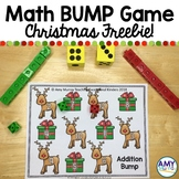 Christmas Math Dice Game Freebie | Christmas BUMP Roll and
