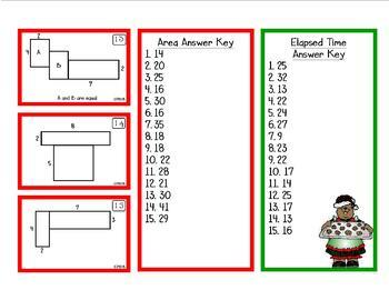 Christmas Math Bump-it Games