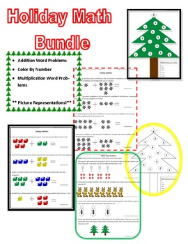 Christmas Math No Prep Pack