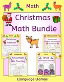Christmas Math Bundle - addition, subtraction and skip counting