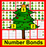 Christmas Math Center - 102 Triangle Fact Families - Diffe